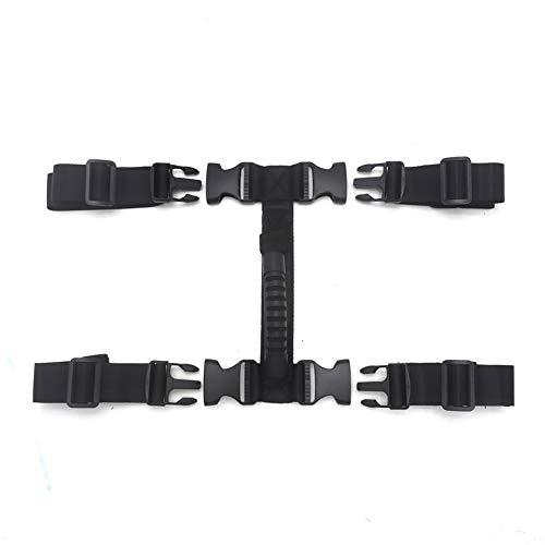 iSpchen Maniglia per valigia laterale per moto, Maniglia laterale per scatola laterale in lega di alluminio, Maniglia per valigia per moto