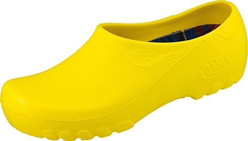 Jolly Fashion Gartenschuhe Gelb - Größe 45