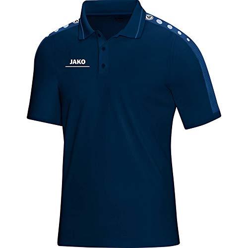 JAKO Damen Polo T-Shirt Striker, marine/nightblue, 42-44