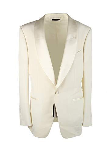 CL - Tom Ford Windsor Ivory Signature Tuxedo Dinner Jacket, 42, EU 52 (42 US), 52, 42R