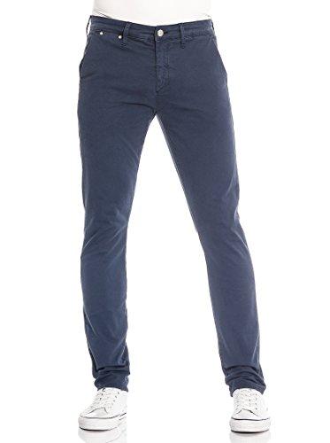 Meltin'Pot Pantalone Simon-Mp020 Blu Navy W32L32