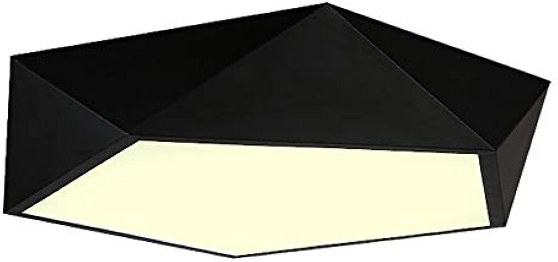 WPOLED Moderne Kreative Eisen Metall Deckenleuchte Klassische LED Retro Persnlichkeit Dekoration Balkon Einfache Acryl Deckenleuchte Kunst Korridor Treppe Kronleuchter 18 Watt