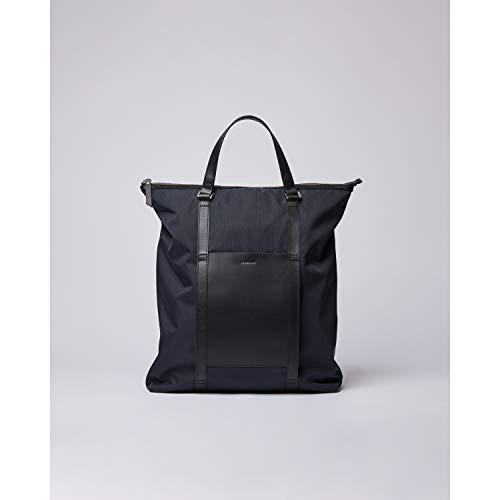 Sandqvist Marta Black Rucksack & Tote Bag recyceltem Nylon