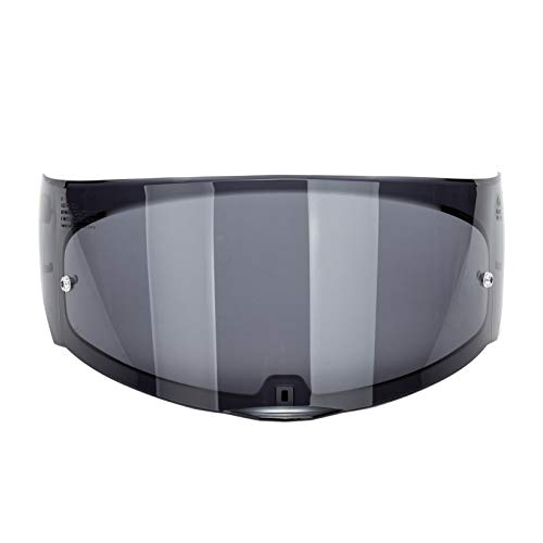 Romacci Protetor de vento para motocicleta, capacete, lente, viseira, substituição de face completa para capacete de moto LS2 FF 320 328 353