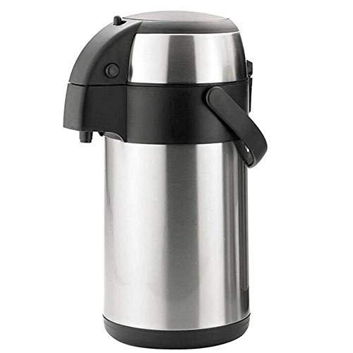 CFZHANG Thermos A Pompa Airpot In Acciaio Inox, Thermos Per Tè Caldo, Caffè E Bevande, In Acciaio Inox, Mantiene Le Bevande Calde O Fredde Fino A 24 Ore,3L