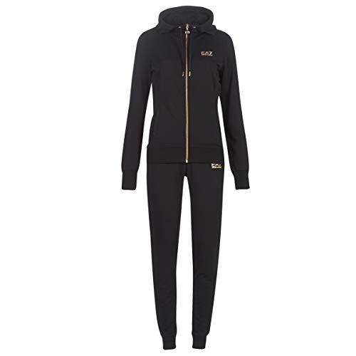 Emporio Armani EA7 6GTV74-TJ31Z-1202 Jogging & Sportbekleidung Damen Schwarz - L - Jogginganzüge