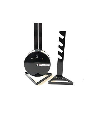 ALLEGRI Girarrosto Elettrico Plus Spiedo in ACCIAIO INOX cm 95 Coppia Fermacarne 2 PUNTE Inox Portata MAX 8 kg