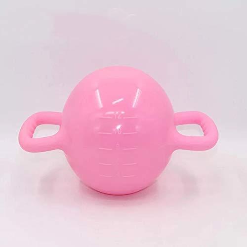 Wettbewerb Kettlebell (Hochwertiges PVC),Ergonomisches Design,für Heim-FitnessgeräTe Workouts Krafttraining Freie Gewichte für Frauen,MäNner,Massage
