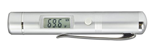 TFA Dostmann Flash Pen Infrarot-Thermometer, berührungsloses Messen, vielseitig nutzbar, robustes Metallgehäuse