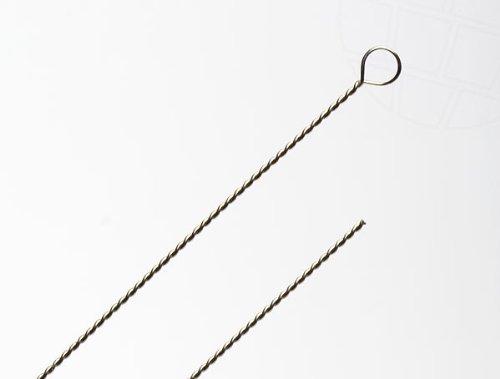 Perlnadel gedreht, Stärke 2 (0,36mm), 10 Stück