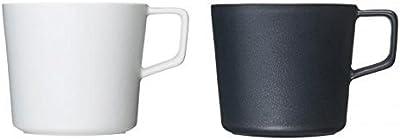 有田焼 匠の蔵 ティーマグカップ 1.WHITE 2.BLACK セット