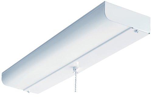 Lithonia Lighting CUC8 15 120 LP S1 M4 18-Inch 1-Light Flush Mount Fluorescent Ceiling Closet Light, White