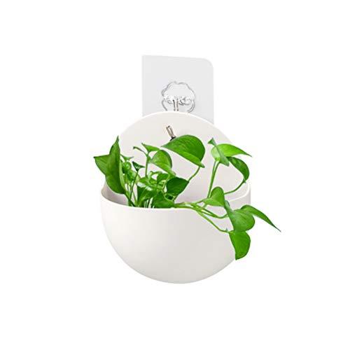 Macabolo - Vaso da fiori semicircolari in plastica