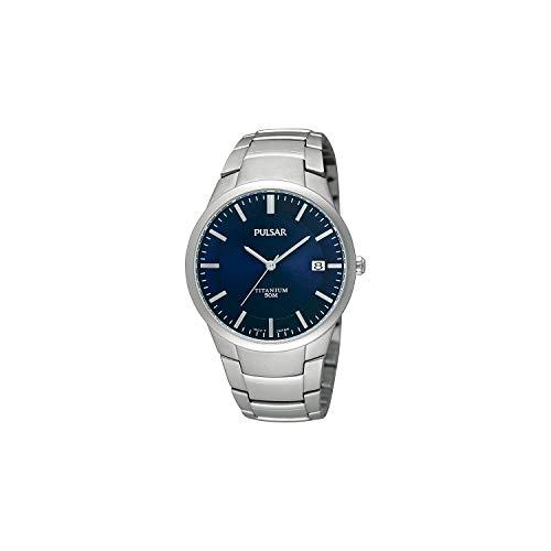 Pulsar Titanium Heren horloge PS9011X1