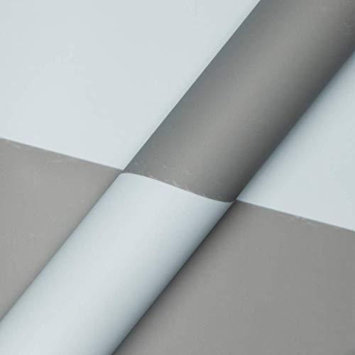 ZXL tweekleurig inpakpapier, massieve kleur handgemaakt papier vriendin verjaardag bloem mand geschenkverpakking papier 20 vellen (kleur: C, Maat : 60 * 60CM)