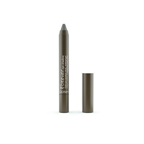 GOSH Forever Eye Shadow Lidschatten-Stift mit cremiger Textur für einfaches Auftragen und intensives Farbergebnis | wasserfest, hält bis zu 8h | parfümfrei & hautverträglich | 010 Twisted Brown (Matt)