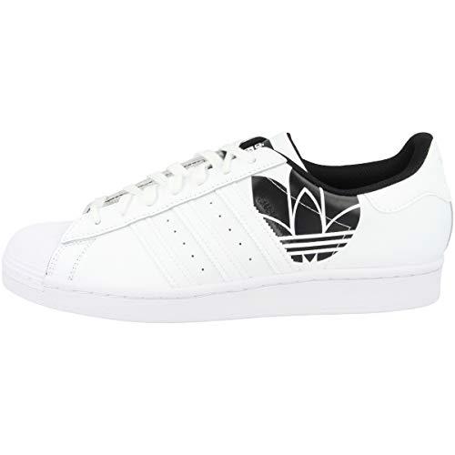 adidas Superstar Sonic Trefoil - Botas de esquí, color blanco y negro, color Blanco, talla 48 EU