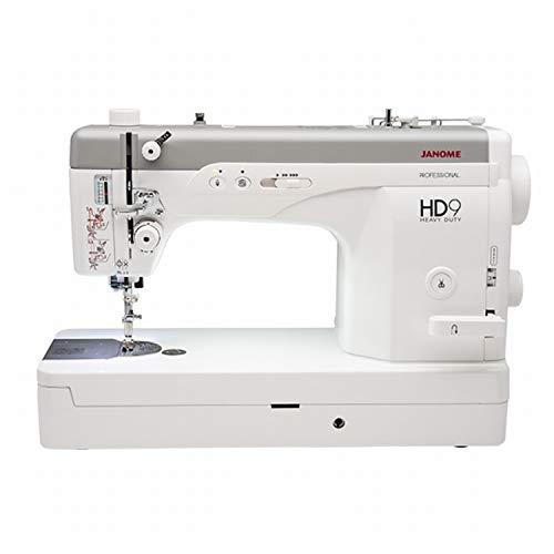 Janome HD9 Professional - Máquina de coser rápida, puntada recta, velocidad rápida y diseño inteligente perfecto para coser y acolchar
