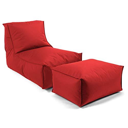 mokebo® Outdoor Sitzsack \'Der Sundowner\', Bean Bag, Liege & leichte Relaxliege, Made in Schwarzwald