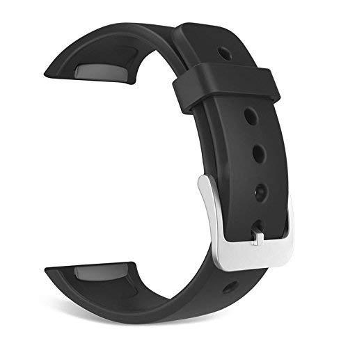 Mofun® Verstelbare Siliconen Band Armband met METAL Sluiting voor Samsung Gear fit 2 SM-R360 / Samsung Gear fit 2 R360 Horloge Klein, Vrouwen Mannen