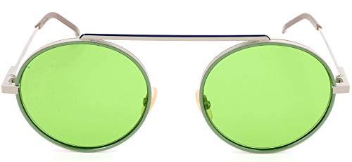 Fendi Sonnenbrille FF M0025/S Occhiali da Sole, Argento (Silber), 54.0 Uomo