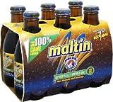 Cerveza rubia Polar Malta sin alcohol botella 20,7 cl Pack de 6