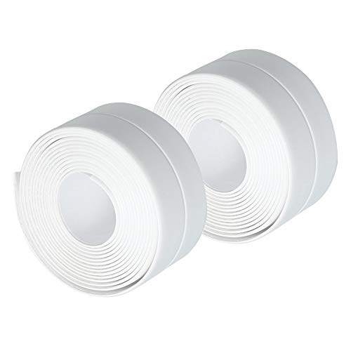 Gobesty Bath & Kitchen Caulk Tape Sealant Strip, 2 PCS *...