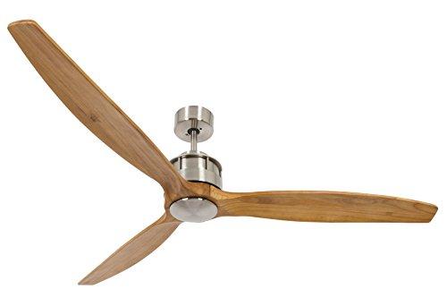 Lucci air Airfusion Akmani Design-Deckenventilator, 152 cm Durchmesser, ECO-Motor (35W), mit Fernbedienung (6 Stufen)