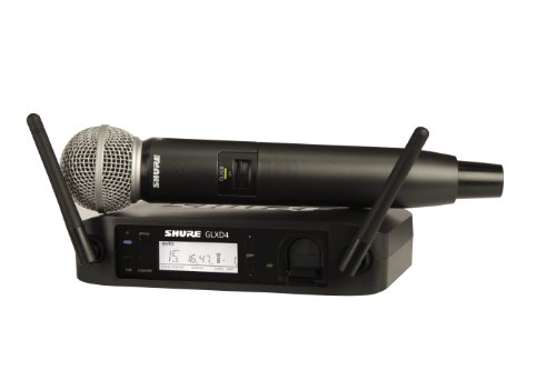 Shure GLXD24/SM58-Z2 Digital Wireless Microphone System with SM58 Vocal Mic