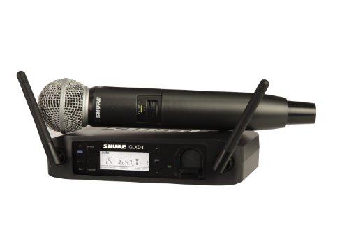 Shure GLXD24/SM58 Wireless Handheld Dynamic Microphone System
