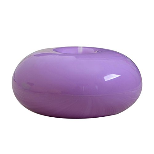 Elevin(TM) 175ML Ultrasonic Humidifier, 2016 Air Aroma Essential Oil Diffuser LED Ultrasonic Aroma Aromatherapy Humidifier for Office Home Bedroom Living Room Study Yoga Spa. (Purple)