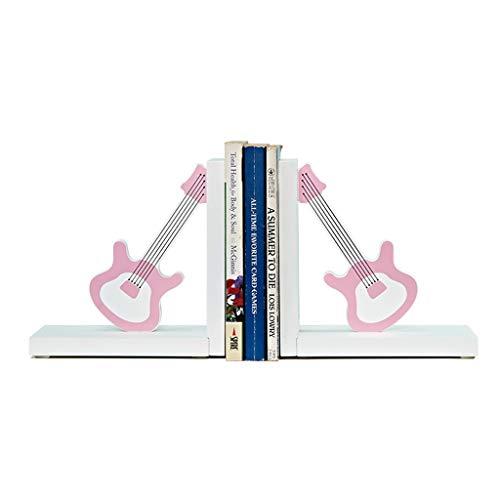 PLL Creatieve Huishoudelijke Boekends Roze Gitaar Vorm Ornamenten Slaapkamer Desktop Boekends