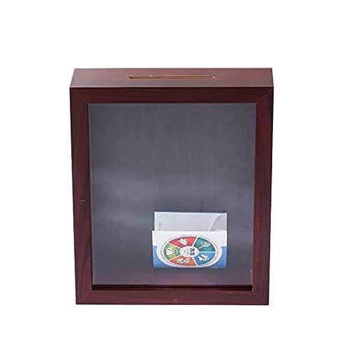 Caja de sombra de flores,3D Marco de Fotos de profunda,medallas,fotos,Monedas,entradas de cine,sellos,souvenirs,billetes,caja de memoria para recuerdos,Portafotos para Colgar en la Pared Escritorio