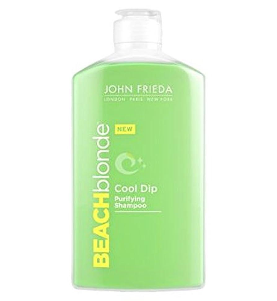 したいインタラクション電極ジョン?フリーダビーチブロンドのクールなディップ浄化シャンプー250ミリリットル (John Frieda) (x2) - John Frieda Beach Blonde Cool Dip Purifying Shampoo 250ml (Pack of 2) [並行輸入品]