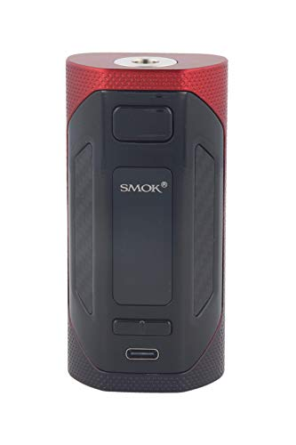 Smok Rigel 230 Watt Akkuträger, Box Mod für e Zigarette - Farbe: schwarz-rot