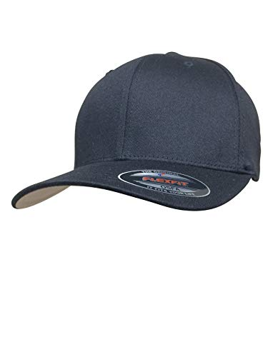 Flexfit Herren Athletic Baseball Fitted Cap - Schwarz - L/XL