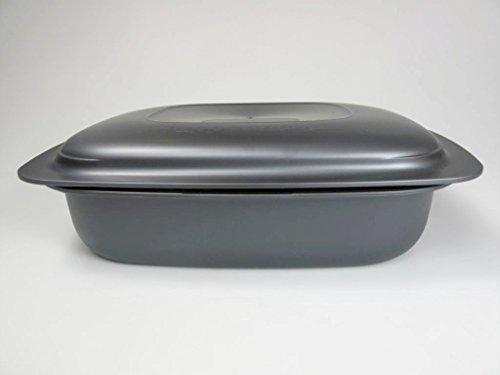 TUPPERWARE UltraPro Ultra Pro 31054 - Cacerola plana (3,3 L), color gris