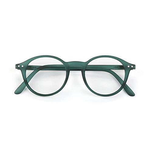 IZIPIZI LetmeSee #D Green Crystal Reading Glasses +1 Verde