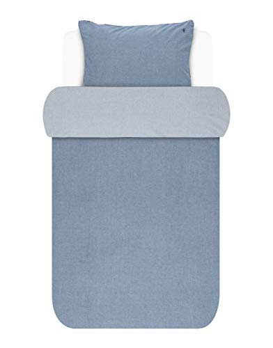 Marc O'Polo Washed Chambray Bettwäsche-Set 40x80 Blue