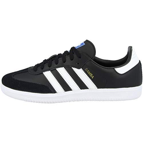 Adidas Samba OG J, Zapatillas de Deporte Unisex Adulto, Negro (Negbas/Ftwbla 000), 36 2/3 EU
