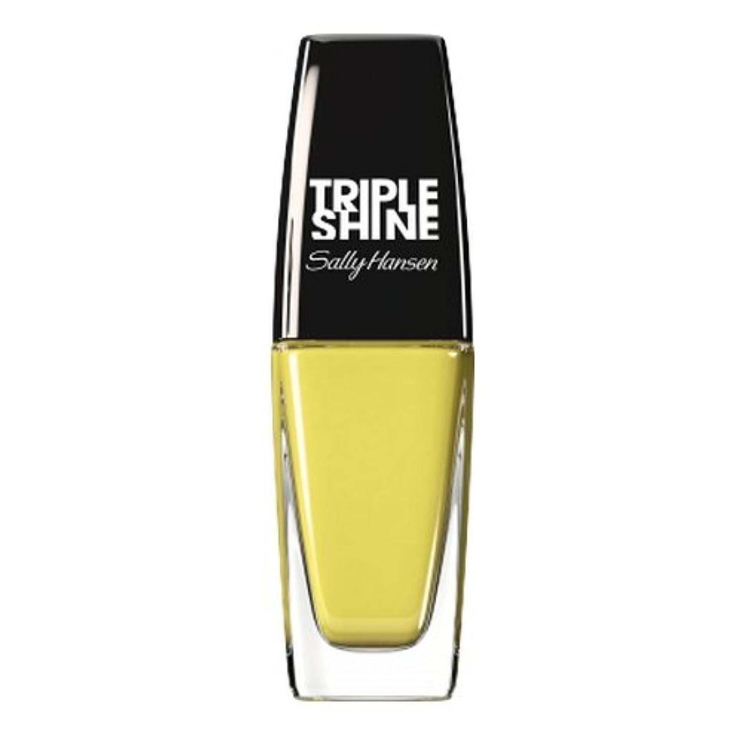 供給ウイルス偉業(3 Pack) SALLY HANSEN Triple Shine Nail Polish - Statemint (並行輸入品)