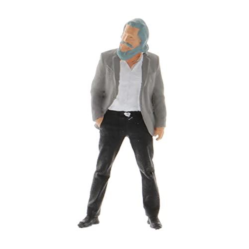 yaohuishanghang Pequeña Gente 1/64 Personas MINIATURAS Figuras CIENTAS ESCENACIONES ESCENAJE Tabla DE ARRANSA Diorama SIGUIENTES S Guage Personajes Humanos en Miniatura