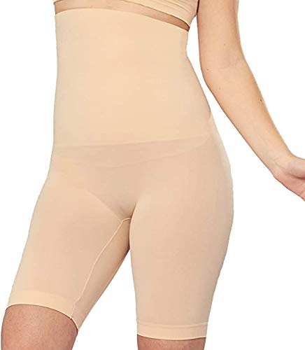 Shapermint High Waisted Body Shaper Shorts - Shapewear for Women Tummy Control Small to Plus-Size