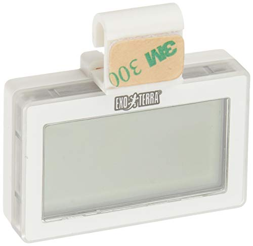 GEX EXOTERRA コードレスデジタル温湿度計 3WAY設置OK ワイヤーケージにも [爬虫類用 ]