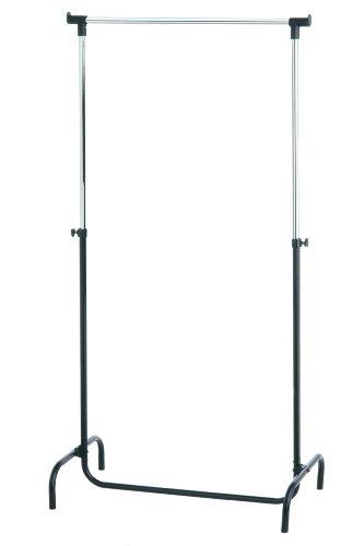 Premier Housewares Kleiderständer ohne Rollen, Metall, schwarz, 45x80x165