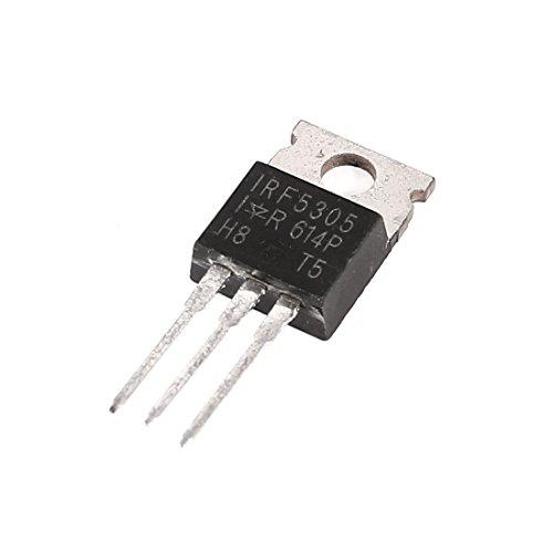 Aexit IRF5305 Transistor de potencia de alto voltaje de 3 (model: S8544VIX-1778TX) pines PNP TO-220AB