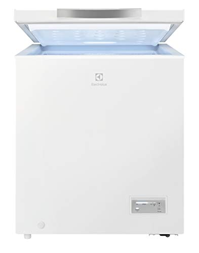 Electrolux LCB1AF14W0 Congelador Horizontal, 75 W, Capacidad 142 L, Blanco