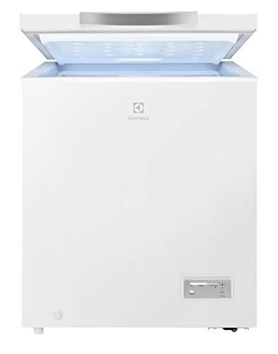 Electrolux LCB1AF14W0 Congelatore Orizzontale, 75 W, Capacità 142 L, Bianco
