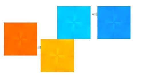 Nanoleaf Canvas Expansion Pack, Kunststoff, 4 W, Weiß