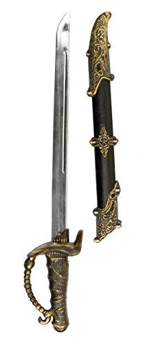 Boland 00659 - Piratenschwert mit Scheide, Circa 52 cm